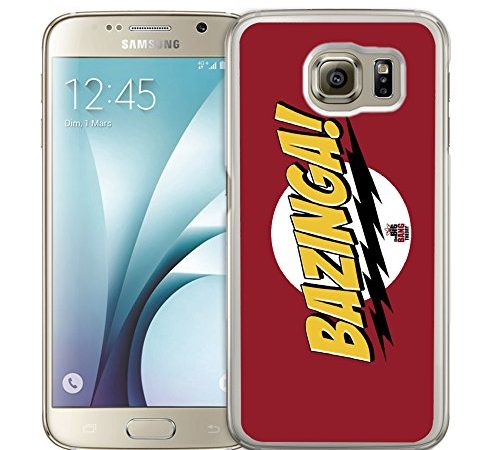 Custodia Case Samsung Galaxy S4 : Big Bang Theory – Bazinga